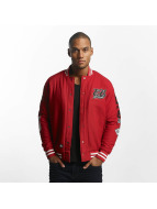 Ecko Unltd. Big Logo College Jacket Red