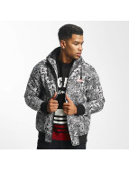 Ecko Unltd. Comics Allover Anorak Black/White
