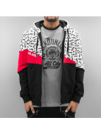 Zigzag Zip Hoody Black...