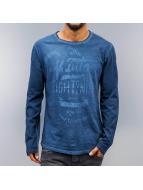 Eight2Nine Camiseta de manga larga Stay True índigo