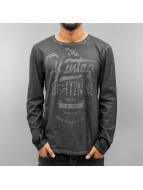 Eight2Nine Camiseta de manga larga Stay True gris