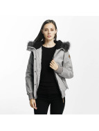 Eight2Nine Chaqueta de invierno Big Hood gris