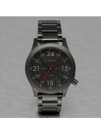 Electric horloge FW01 Stainless Steel zwart