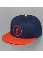 Electric snapback cap VOLT blauw