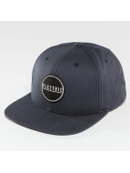 Electric Snapback Cap Rubber Stamp blue