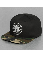 Electric snapback cap PENINSULA zwart