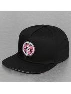 Electric snapback cap PRINT PACK zwart