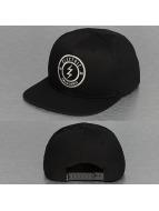Electric snapback cap PENSACOLA II zwart