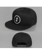 Electric Snapback Caps VOLT musta