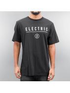 Electric t-shirt CORP IDENDITY zwart