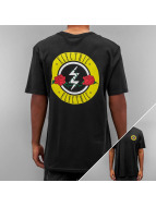 Electric Tall Tees ROSES czarny