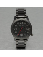 Electric Uhr FW01 Stainless Steel schwarz