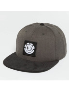 Element Snapback Caps United šedá