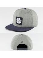 Element Snapback Caps United szary