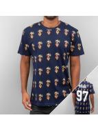 Eleven Paris T-Shirt Higy blau