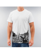 Eleven Paris T-Shirt Huter weiß