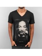 Eleven Paris t-shirt Mood V-Neck zwart