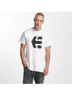 Etnies T-paidat Icon Fill valkoinen