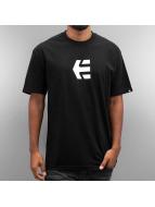 Etnies t-shirt Icon Mid zwart