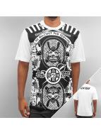 EVISU T-Shirt Samurai weiß