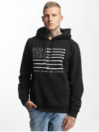 Famous Stars and Straps Hoody Bone Flag schwarz