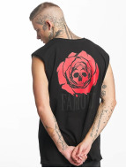 Famous Stars and Straps Tank Tops Deadrose musta