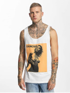 Famous Stars and Straps Tank Tops Horror Story white