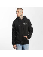 Famous Stars and Straps Zip Hoodie Chaos black