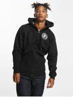 Famous Stars and Straps Zip Hoodie Strike black