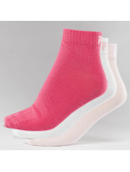 FILA Chaussettes 3-Pack magenta