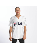 FILA Chemise Urban Line Baseball Dawn blanc