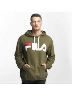 FILA Hoodies Urban Line Classic Logo olivový