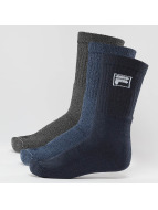 FILA Skarpetki 3-Pack niebieski