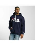 FILA Sweat à capuche Urban Line Basic Classic Logo bleu