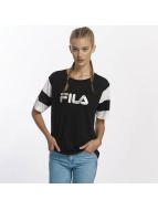 FILA T-Shirt Petite Isao Blocked schwarz