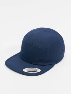 Flexfit 5 Panel Caps Classic Jockey blu
