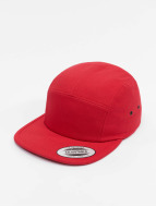 Flexfit 5 Panel Caps Classic Jockey rosso