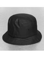 Flexfit Chapeau Full Leather Imitation noir