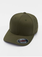 Flexfit Flexfitted Cap Wooly Combed oliva