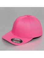 Flexfit Flexfitted-lippikset Wooly Combed vaaleanpunainen