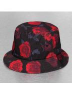 Flexfit hoed Roses zwart
