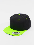 Flexfit Snapback Cap Classic Two Tone black