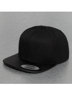 Flexfit Snapback Cap Perforated Visor black