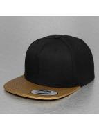 Flexfit Snapback Cap Metallic Visor goldfarben