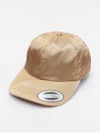 Flexfit snapback cap Low Pofile Satin goud