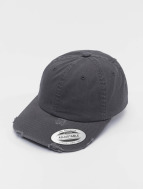 Flexfit Snapback Cap Low Profile Destroyed grau