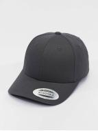 Flexfit Snapback Cap Curved Classic grau