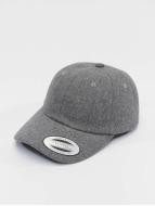 Flexfit snapback cap Low Profile Melton grijs