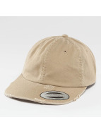 Flexfit snapback cap Low Profile Destroyed khaki