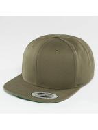 Flexfit snapback cap Classic olijfgroen